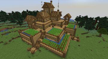 Garden house Minecraft Map & Project
