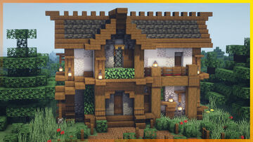 ⚒️ Minecraft: Medieval House Minecraft Map & Project
