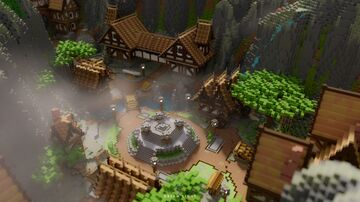 The Misty Village Minecraft Map & Project