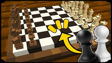 How to Make a Chess Table (NO MODS) Minecraft Map & Project