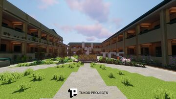Tambo Central School Minecraft Map & Project