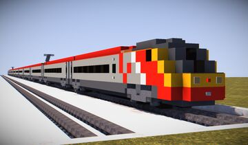 Trains Map Fullerton station Minecraft Map & Project