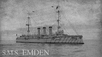 SMS Emden (1909) [FULL INTERIOR] Minecraft Map & Project