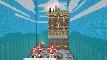 Paris Sunrise Day [Smol Peace] Minecraft Map & Project