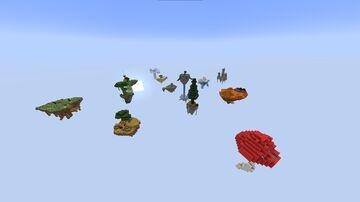 Sky Block Minecraft Map & Project