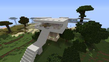 Casa moderna 1 / Modern house 1 /1.10.2 Minecraft Map & Project