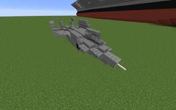 J-20 cv (carrier) variant Minecraft Map & Project