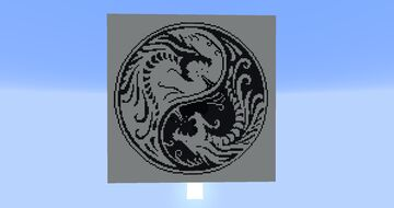 dragon ying yang Minecraft Map & Project