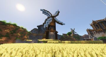 Windmill (Medieval) Minecraft Map & Project