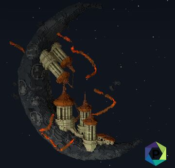 Moon Tower Floating Hub   1.8+ Minecraft Map & Project