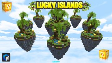LUCKY ISLANDS (MAP MINECRAFT BEDROCK) Minecraft Map & Project