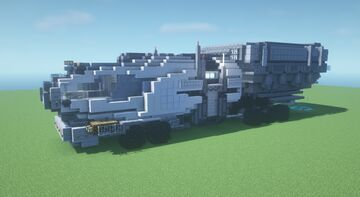 Scifi Truck (or something idk i life in 2021) Minecraft Map & Project