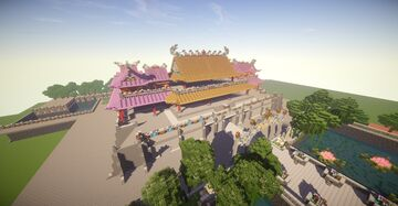 Imperial city: Huế ( Part 4) - Meridian Gate and The Five-Phoenix Pavilion Complete Minecraft Map & Project
