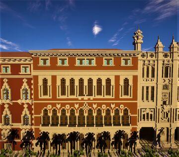 Venetian palace 4 Minecraft Map & Project