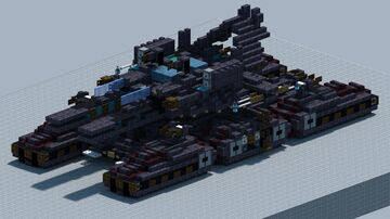 M98A4 Behemoth Superheavy Tank [With Download] Minecraft Map & Project