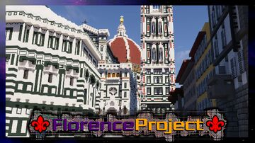 ⚜️Florence-Project⚜️ - Teaser Trailer - mc.theshadercrafters.it Minecraft Map & Project