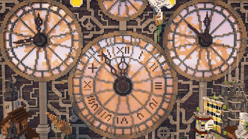 The 3 clocks