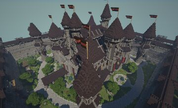 The Castle of Sordrin Minecraft Map & Project