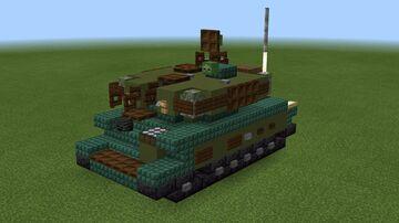 "1.5:1 scale ZSU-23-4 ""Shilka"" Minecraft Map & Project"