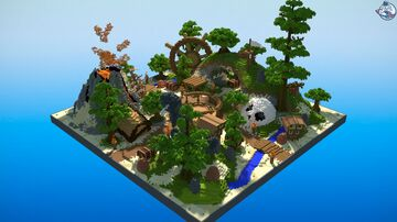 Spawn HCF Minecraft Map & Project