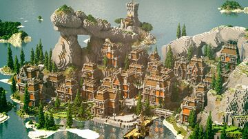 Anoretha Minecraft Map & Project