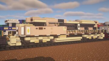 """Canadian Pacific - EMD SD70ACu """"Canadian Arid Army"""" Minecraft Map & Project"""