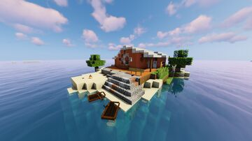 SUMMER HOLIDAY HOME Minecraft Map & Project