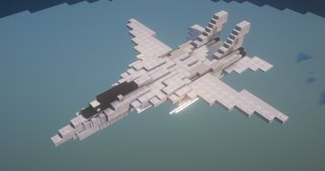 F-14B Tomcat (1.5:1 Scale) Minecraft Map & Project