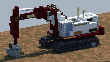 Link Belt LS7400, Excavator [With Download] Minecraft Map & Project