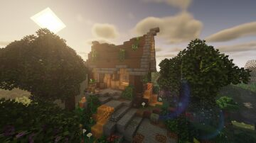 Beekeeper Cottage - Creative Build Series Minecraft Map & Project
