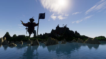 Medieval Pirate Island BUILDING CONTEST Minecraft Map & Project