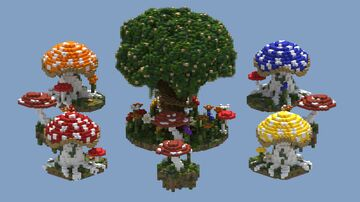[BedWars] Toadstool Towers Minecraft Map & Project