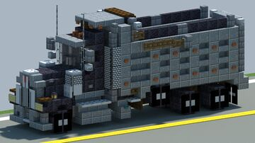 Kenworth W900 Dump Truck [With Download] Minecraft Map & Project