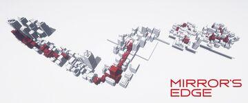 Mirror's edge city Minecraft Map & Project