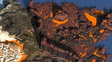 The world of fire gods - WorldPainter Minecraft Map & Project