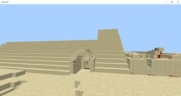 Unfinished Pyramide Bedrock Edition Minecraft Map & Project
