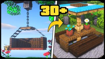 30+ Outdoor Build Hacks and Ideas Minecraft Map & Project