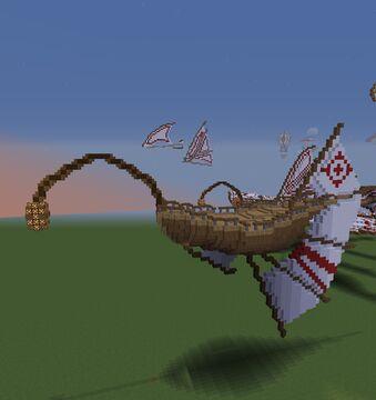 bateau volant 2 Minecraft Map & Project