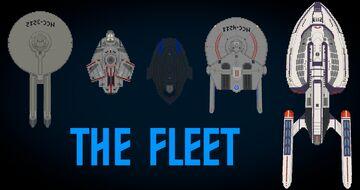 Star Trek: The Fleet v1.9 Minecraft Map & Project