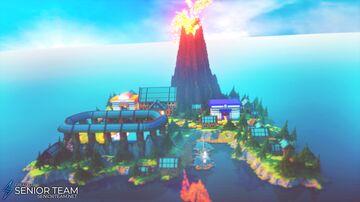 Pixelmon Server Spawn Minecraft Map & Project
