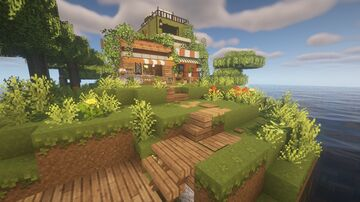 the elusive island shop Minecraft Map & Project