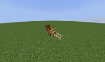 small wagon Minecraft Map & Project
