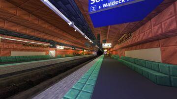 """Subway """"Arts et Métiers"""" station, Paris Minecraft Map & Project"""