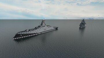 Corvette  ship class Saburov Minecraft Map & Project