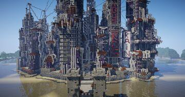 ShippudenWorld | Amegakure no Sato | NarutoCraft Minecraft Map & Project