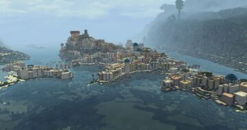 Melissa antique greek city (Conquest reforged) Minecraft Map & Project