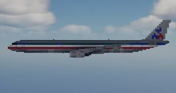 Boeing 757-300 1.5:1 Scale Minecraft Map & Project