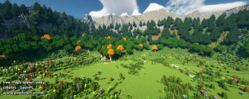 Epic SpawnMap Minecraft Map & Project