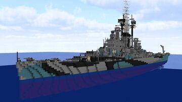 USS Salem CA-139 Des Moines-class Cruiser Minecraft Map & Project