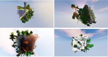 SKYBLOK CUBE BLOCK MAPA SURVIVAL SKYBLOCK EN UN CUBO  (No esta echo por mi) Minecraft Map & Project